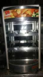 Estufa de salgados vertical
