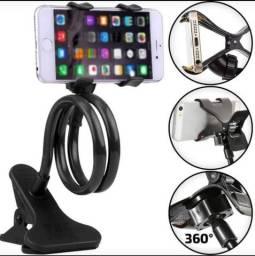 Suporte de celular articulado com garra só r$ 30 Rua Padre Belchior 307 centro o motoboy