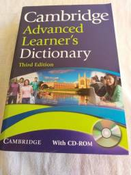 Cambridge Advanced Learner's Dictionary Third Edition, with CD-ROM, (Novo)