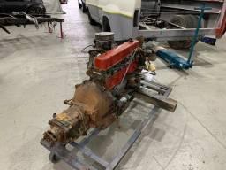 Motor Opala 6cc 4100 Completo Caixa Cambio Coluna V8 Ford Chevrolet C10 Veraneio