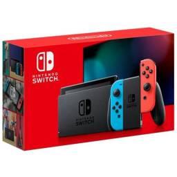 Nintendo Switch New V2 - Loja Física Pronta entrega - Aceitamos Cartões em até 18x