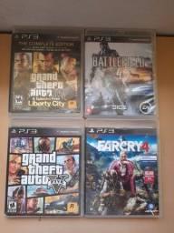 Jogos de Playstation 3 em bom estado