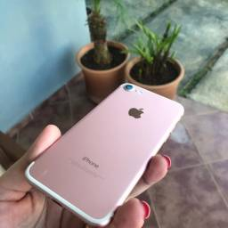IPhone 7 ouro rosa 256gb