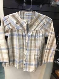 O3 camisas infantis cada 15 reais
