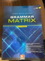 Livro Inglês GRAMMAR MATRIX nunca usado!!