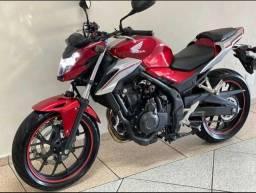 Vendo Honda CB 500f ABS 2019