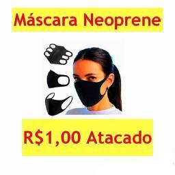 Máscara Neoprene R$1,00 Atacado
