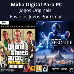 Gta premium edition+star wars battlefront 2 celebration edition Pc