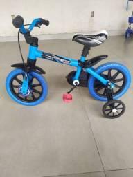 Bicicleta Infantil aro 12 (nathor) em perfeito estado