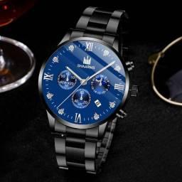 Relógio de Luxo Masculino Ideal para presente