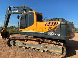 Escavadeira Hyundai R 260 LC-9