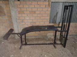 Mesa Flexora e Cadeira extensora