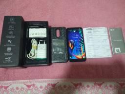 Lg k12 plus 32 gigas sensor biometrico novo com nota 450,00