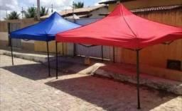 A melhor tenda sanfonada aceito cartão fone *