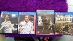 COMBO com 4 JOGOS PS4 (Venda ou troca)