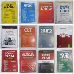 Coleção nova de livros de Direito