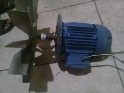 motor trifasco com ventoinha