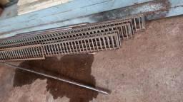 Grades para escoamento de Água