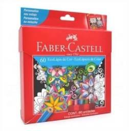 Lápis De Cor Fantasia 60 Cores Especiais Faber Castell