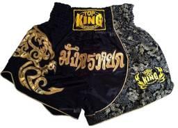 Short Top King Muay Thai Importado Tailandia Original Tkb Promoção Somos Loja
