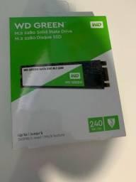 Ssd M.2 240gb Wd Green M2 2280 545mb/s Sata Iii Novo
