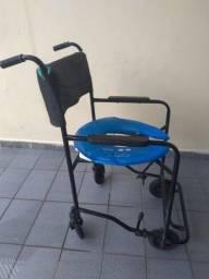 Cadeira de Banho Higiênica com Assento em Gel