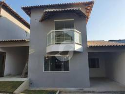 Casa com 3 dormitórios à venda, 112 m² por R$ 472.680,00 - Flamengo - Maricá/RJ