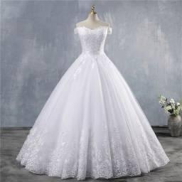 COMBO Vestido de Noiva + Roupa do Noivo + 1 Dama