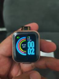 Smartwatch y68 novo tenho na cor preta e na rosa