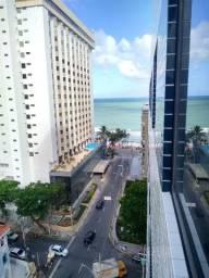 Título do anúncio: Apto. 2 qtos (1 suíte), Rua dos Navegantes, vista do mar, à 100m da praia de Boa Viagem.