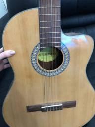 Violão elétrico , com afinador