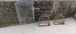 Viveiro e 2 gaiolas
