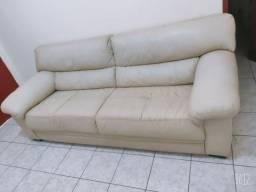 Vendo sofá de couro legítimo