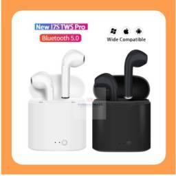 Fone de Ouvido i7s TWS Bluetooth 5.0 Airpods Estéreo com Pod Carregador