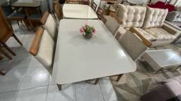 Mesa 4 qualidade pintura laka e madeira