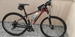Bicicleta MTB, quadro de 1,60 a 1,80.