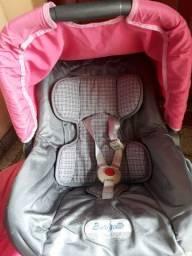 Bebê conforto muito conservado ainda ..cinza e rosa ..rs100.00