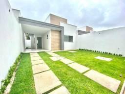 Casa plana nova em rua privativa com 2 quartos e ótimo acabamento no eusébio. Confira!