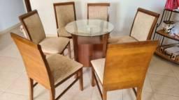 Base de mesa com 6 cadeiras