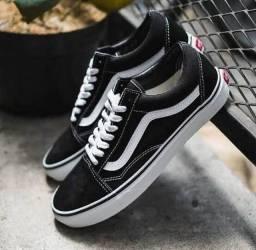 Vans Old Skool unissex preto (PROMOÇÃO)