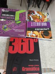 Livros do ensino médio, em perfeito estado