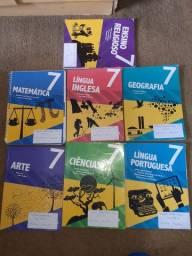 Kit de Livros 7ano Escola Adventista
