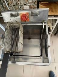 Fritadeira elétrica água e oleo