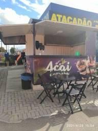 Container pra vender Açaí/Crepes