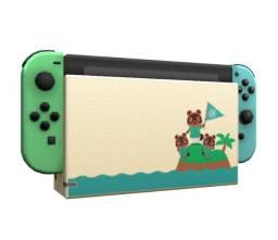 Nintendo Switch Edição Especial Animal Crossing - V2   Lacrado com garantia