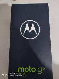 Celular Motorola moto G9 plus - novo - 12x sem juros