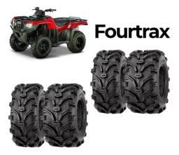 Jogo de 4 pneus zero quadriciclo