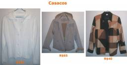3 casacos - R$130