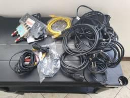 cabos HDMI novos todos estes produtos 50 reais