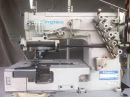 Máquina de costura elastiqueira